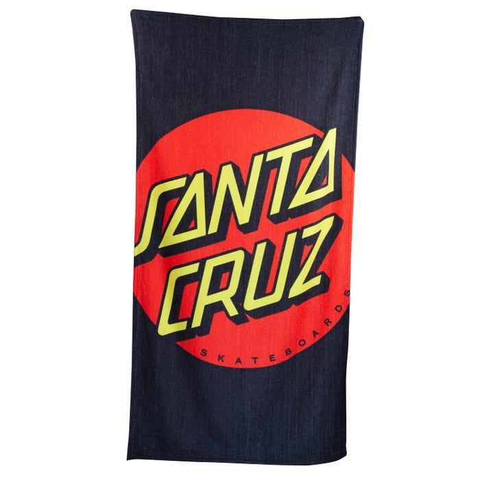 TOWEL CROP DOT BEACH MULTI SANTA CRUZ