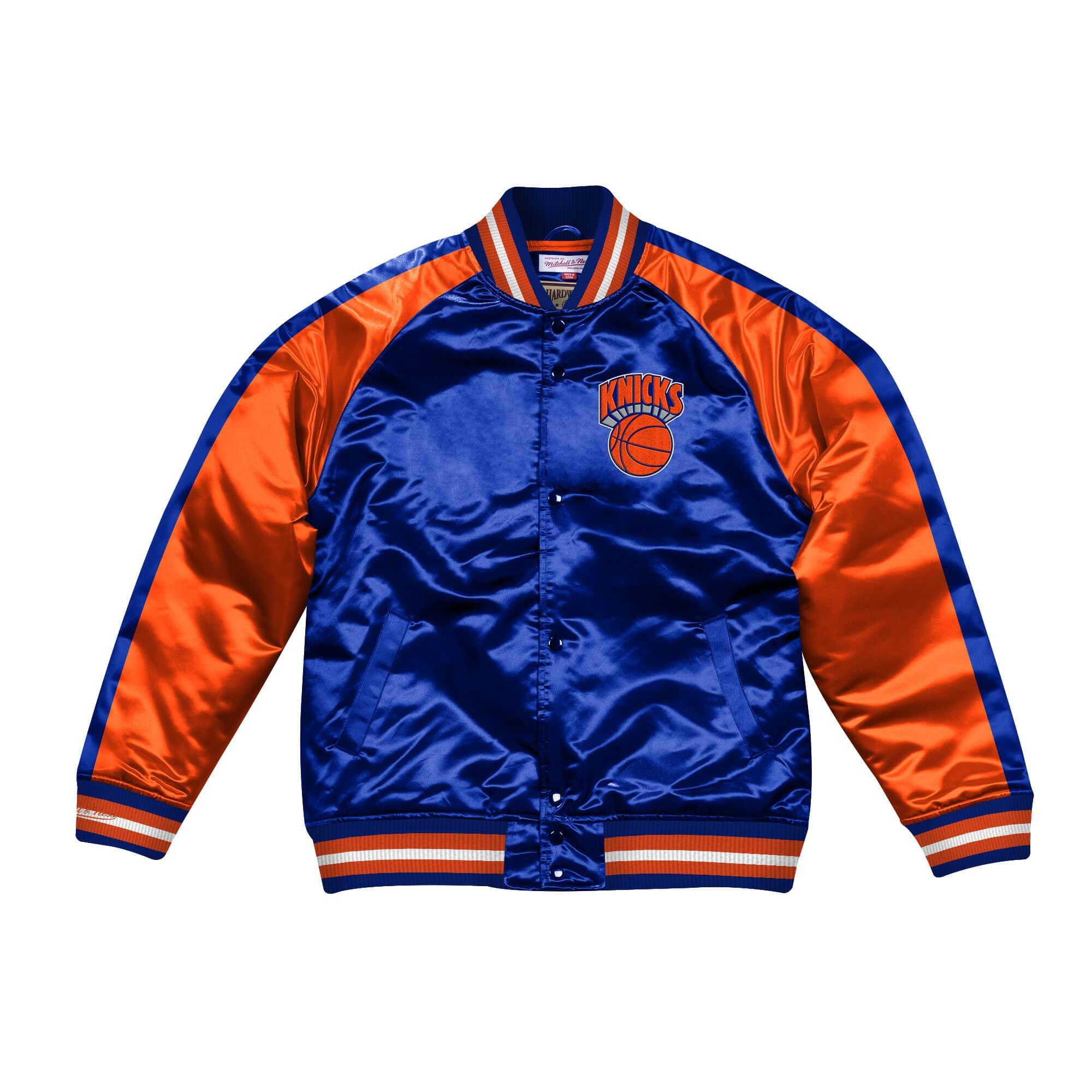 NEW YORK KNICKS JACKET NBA MITCHELL&NESS