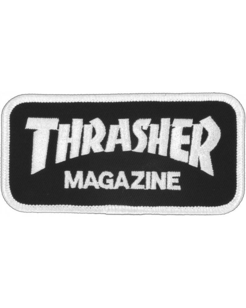 Parche Logo Thrasher Negro