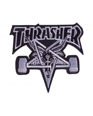 Parche Skategoat Thrasher Negro