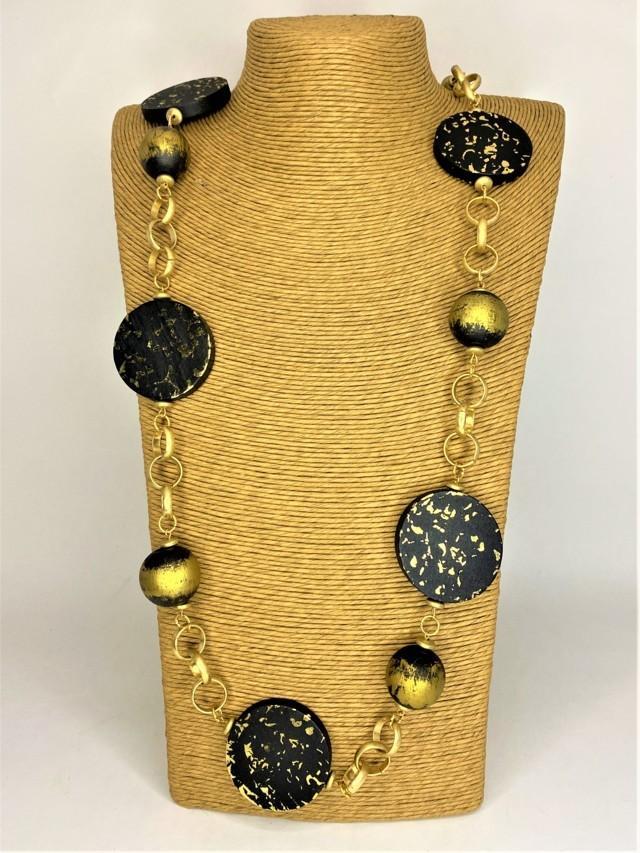 collar adornos de madera tosnac.com