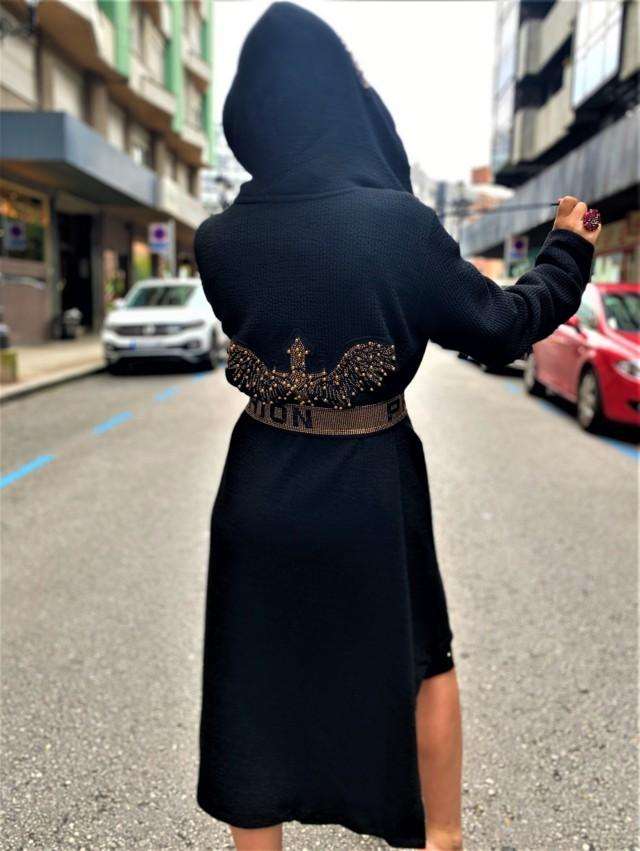 abrigo licra paparazzi fashion tosnac.com
