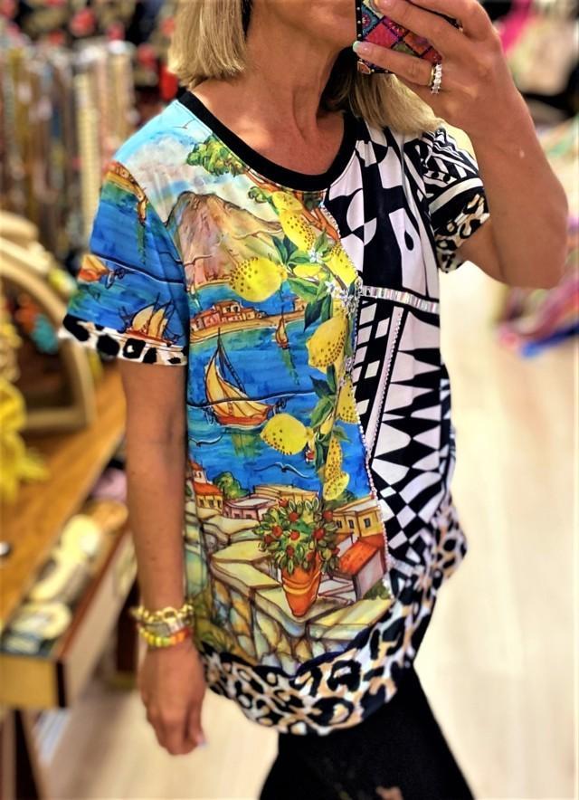 camiseta oversize limones tosnac.com