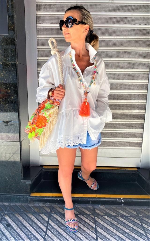 camisa blanca paraiso tosnac.com