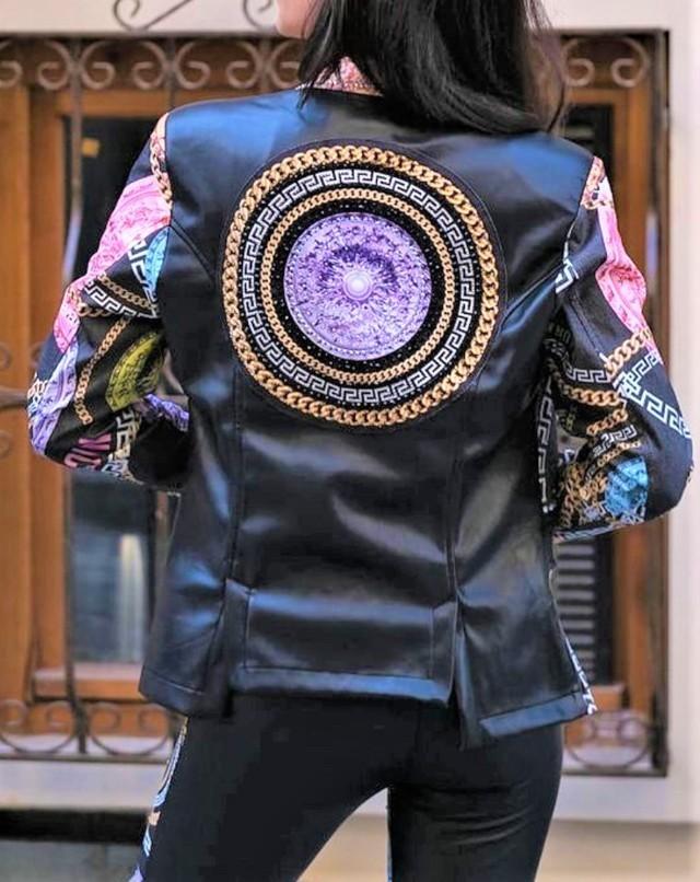 chaqueta licra y polipiel nice istanbul tosnac.com