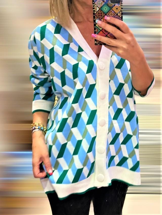 chaqueta basica geometrico 1 tosnac.com