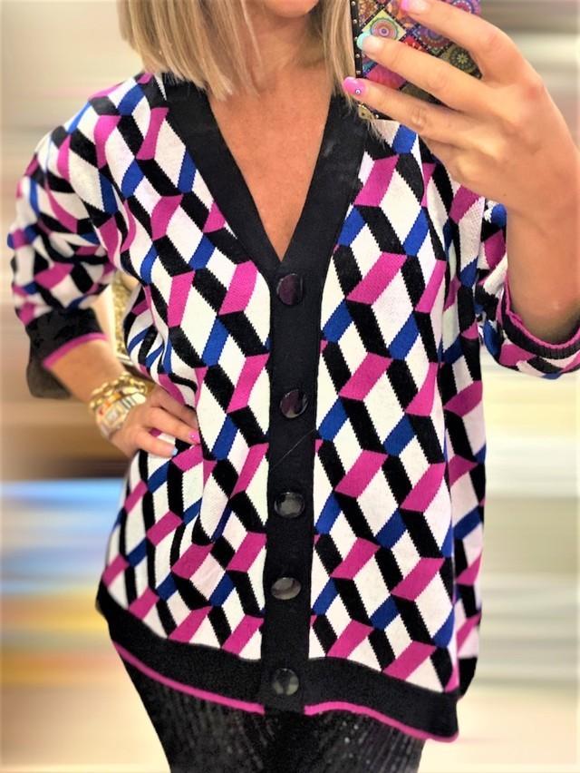 chaqueta basica geometrico 3 tosnac.com