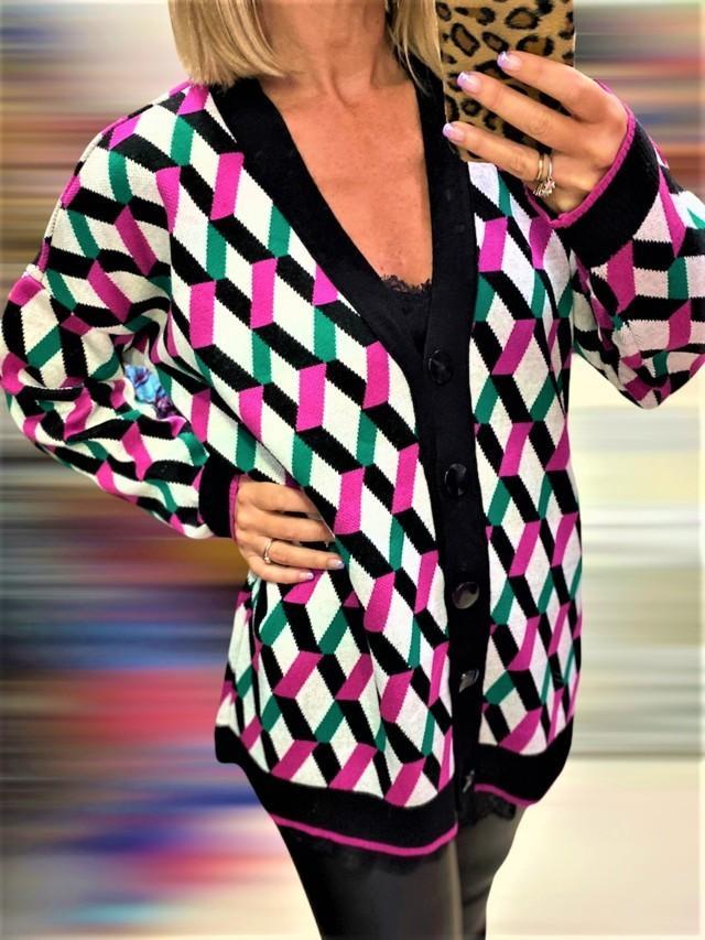 chaqueta basica geometrico 4 tosnac.com