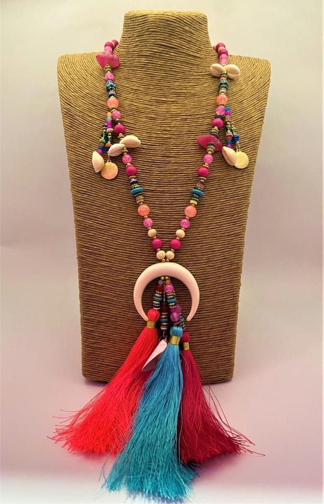 collar hippy media luna