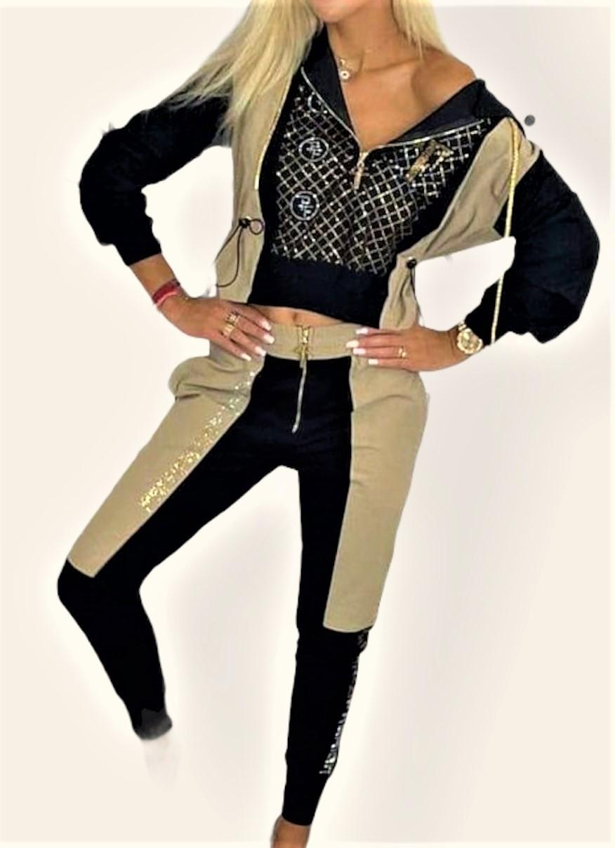 conjunto casual bicolor paparazzi fashion tosnac.com