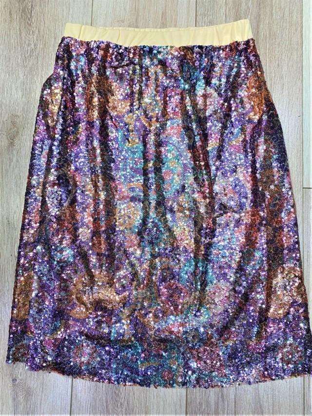 falda multicolor lentejuelas tosnac.com