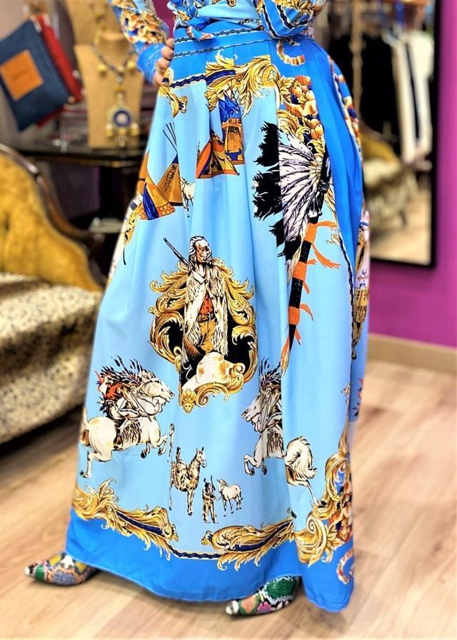 falda larga navajo tosnac.com