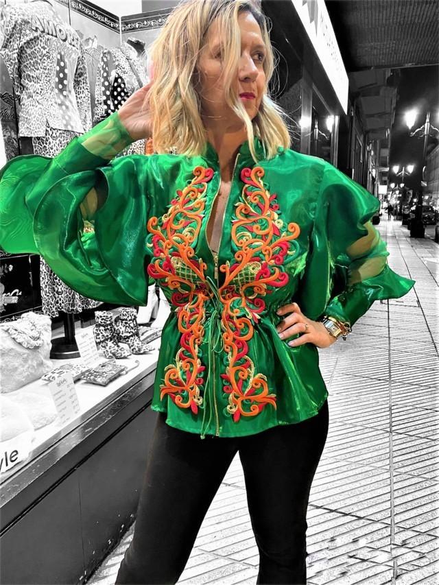 blusa brocados exclusive tosnac.com