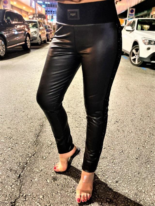 pantalon polipiel fashion queen tosnac.com