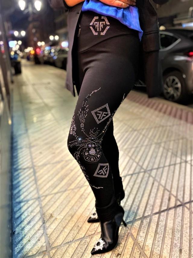 pantalon spider fashion queen tosnac.com