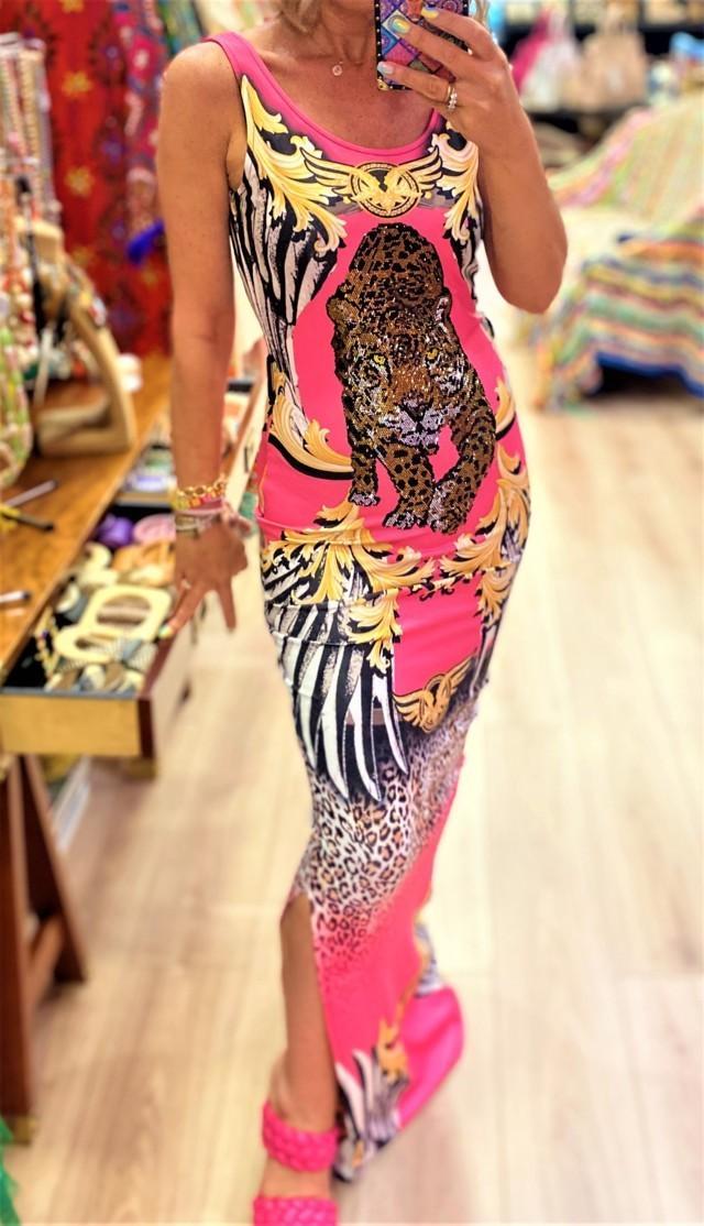 vestido largo pantera tatu tosnac.com