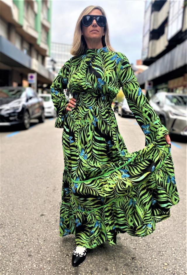 vestido largo tropico tosnac.com