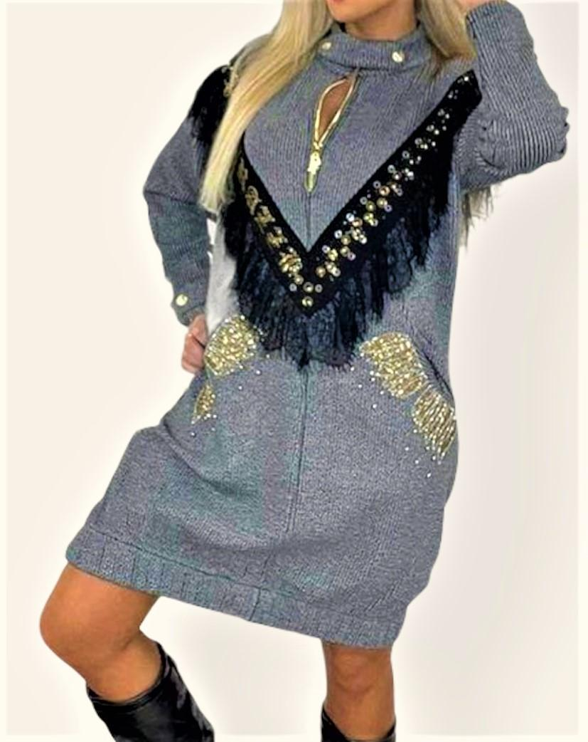 vestido sporty chic paparazzi fashion tosnac.com