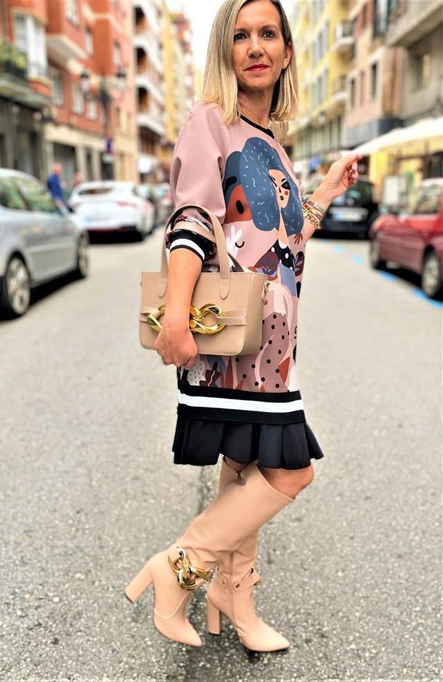 vestido abstracto tosnac.com