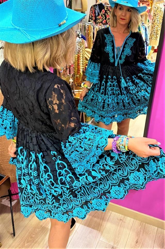 vestido ibicenco las dalias tosnac.com