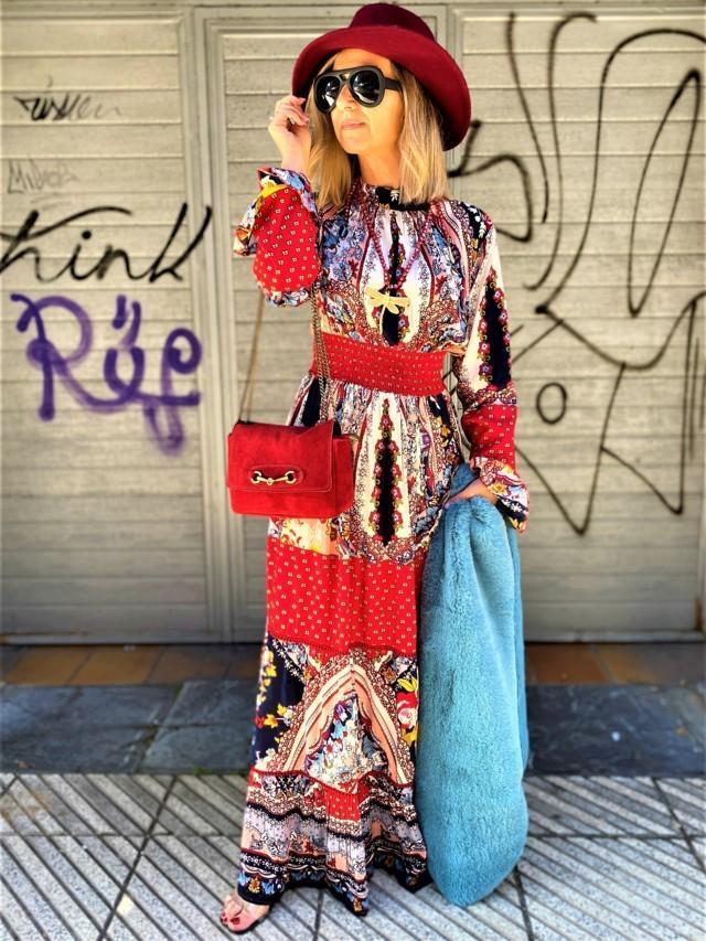 vestido largo aldea tosnac.com