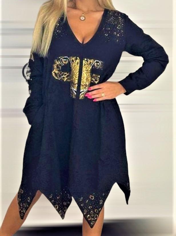 vestido picos paparazzi fashion tosnac.com