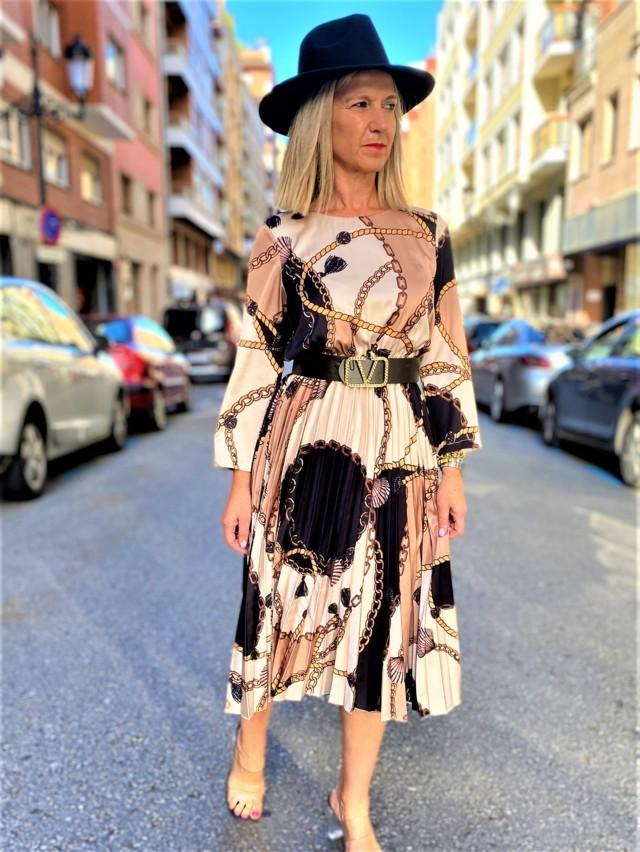 vestido plisado lady tosnac.com