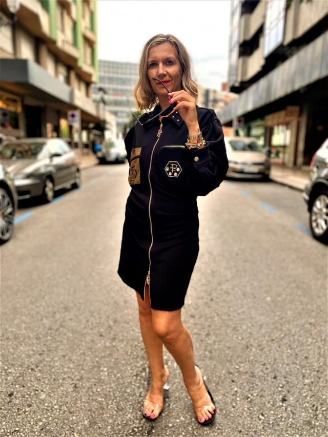 vestido visco paparazzi fashion tosnac.com