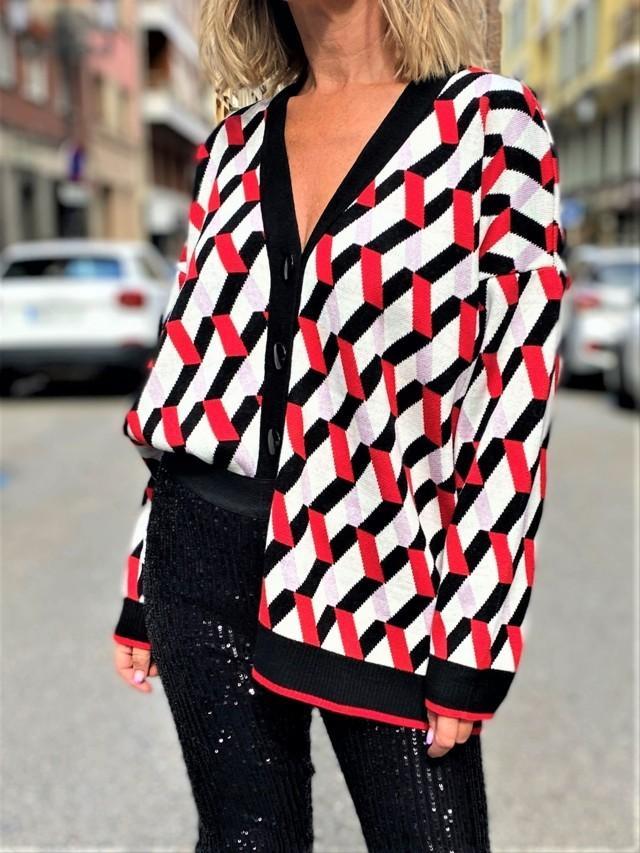 chaqueta basica geometrico 2 tosnac.com