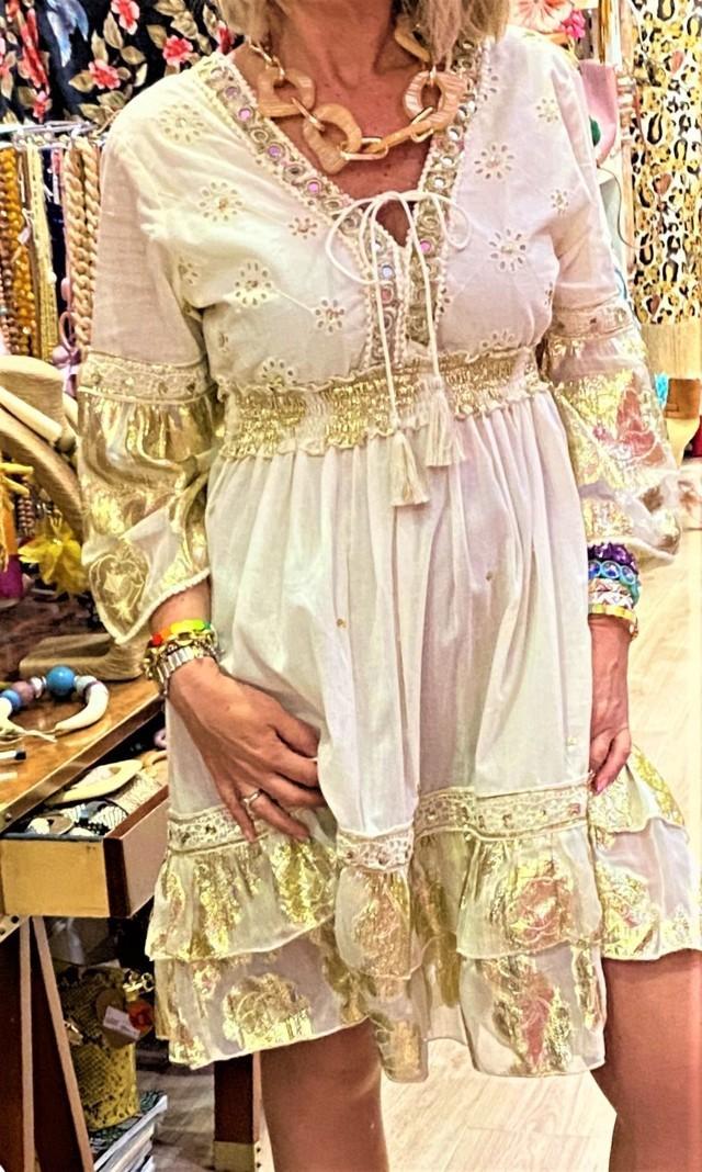 vestido boho jaipur flamenco rosa tosnac.com