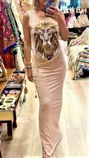 vestido largo leon tatu tosnac.com