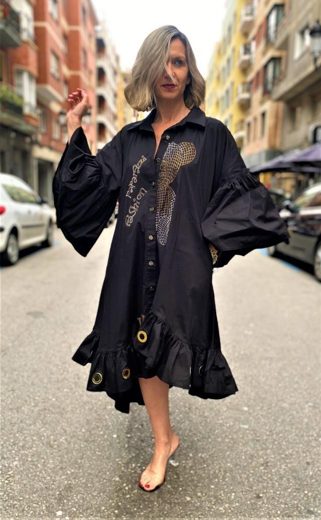 vestido ursus paparazzi