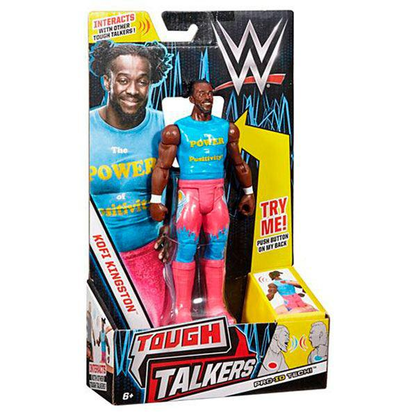 Tough Talkers Kofi Kingston WWE