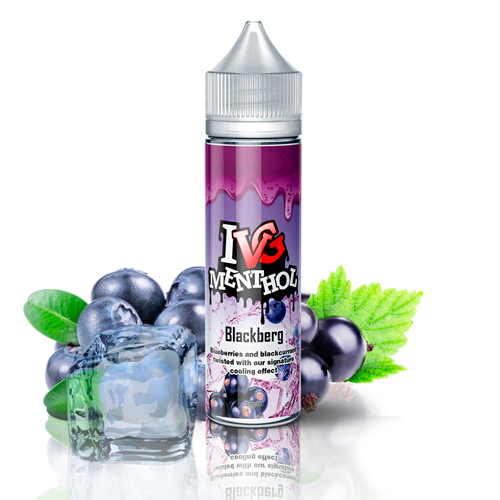 Liquido para Vapear I VG Menthol Blackberg 50ML 00mg