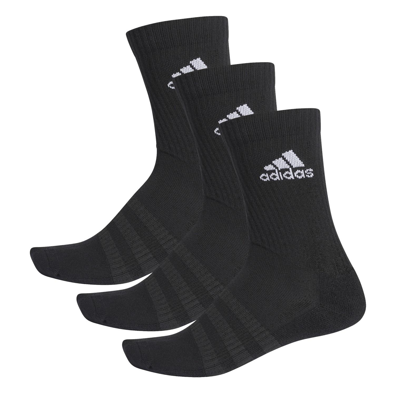 Calcetines Adidas tripack negros