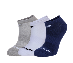 Calcetines Babolat invisible tricolor