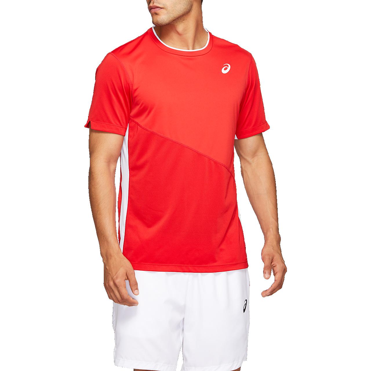 Camiseta Asics Club rojo