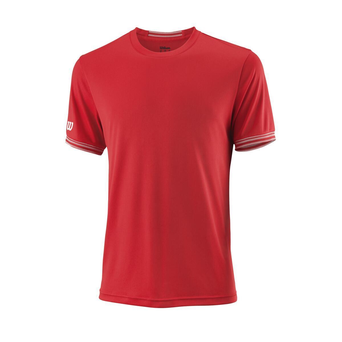 Camiseta Wilson Solid roja