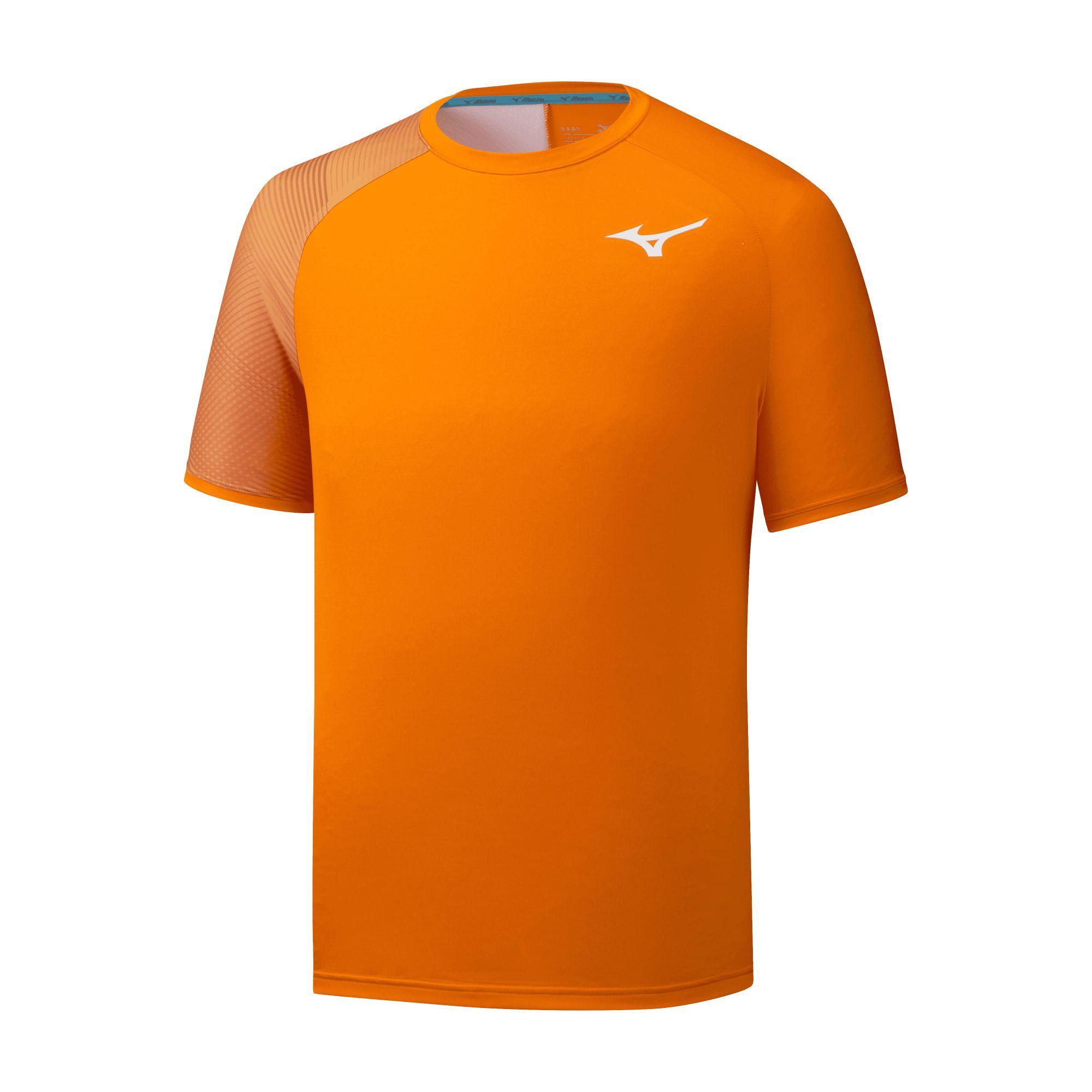 Camiseta Mizuno Shadow naranja