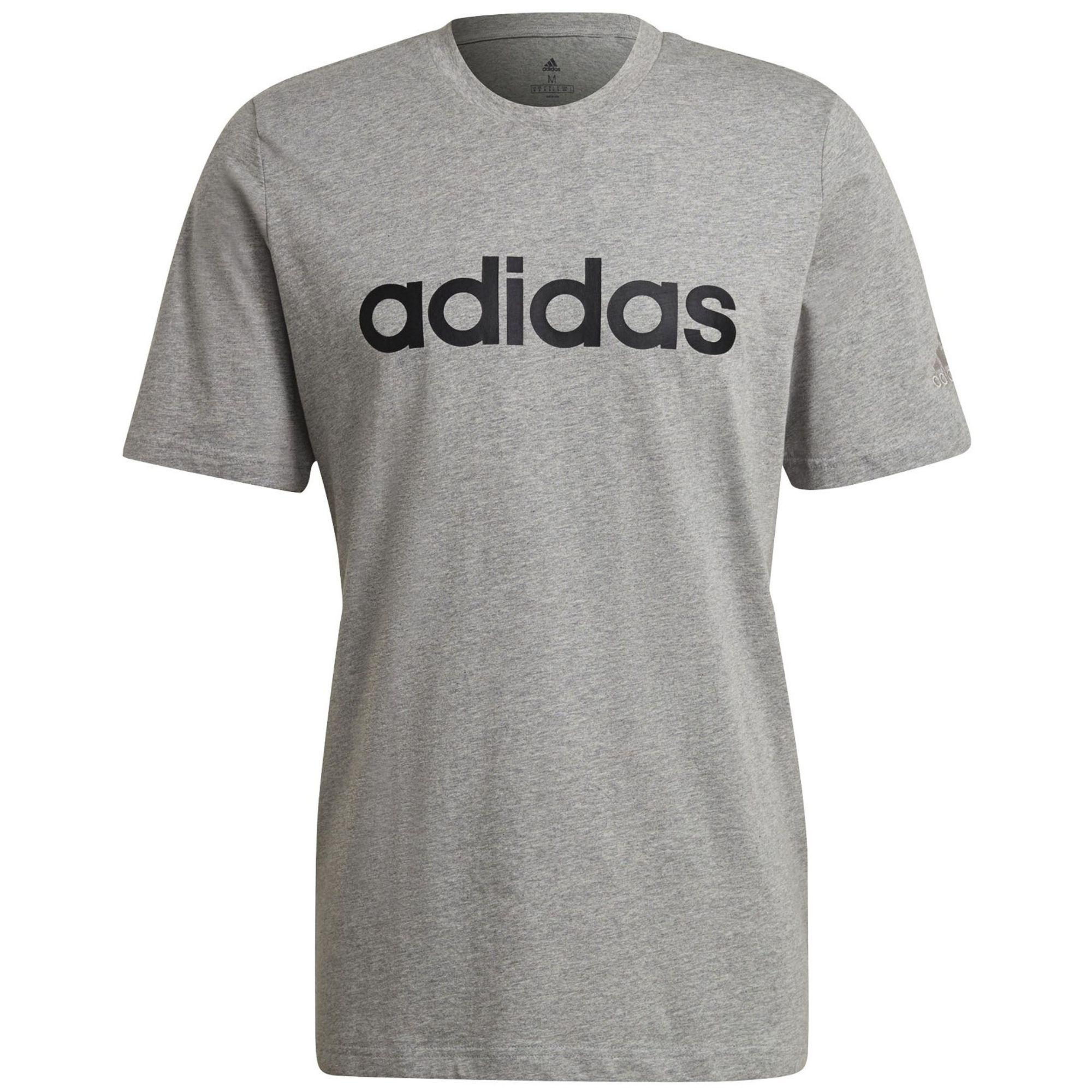 Camiseta ADIDAS ALGODON GRIS
