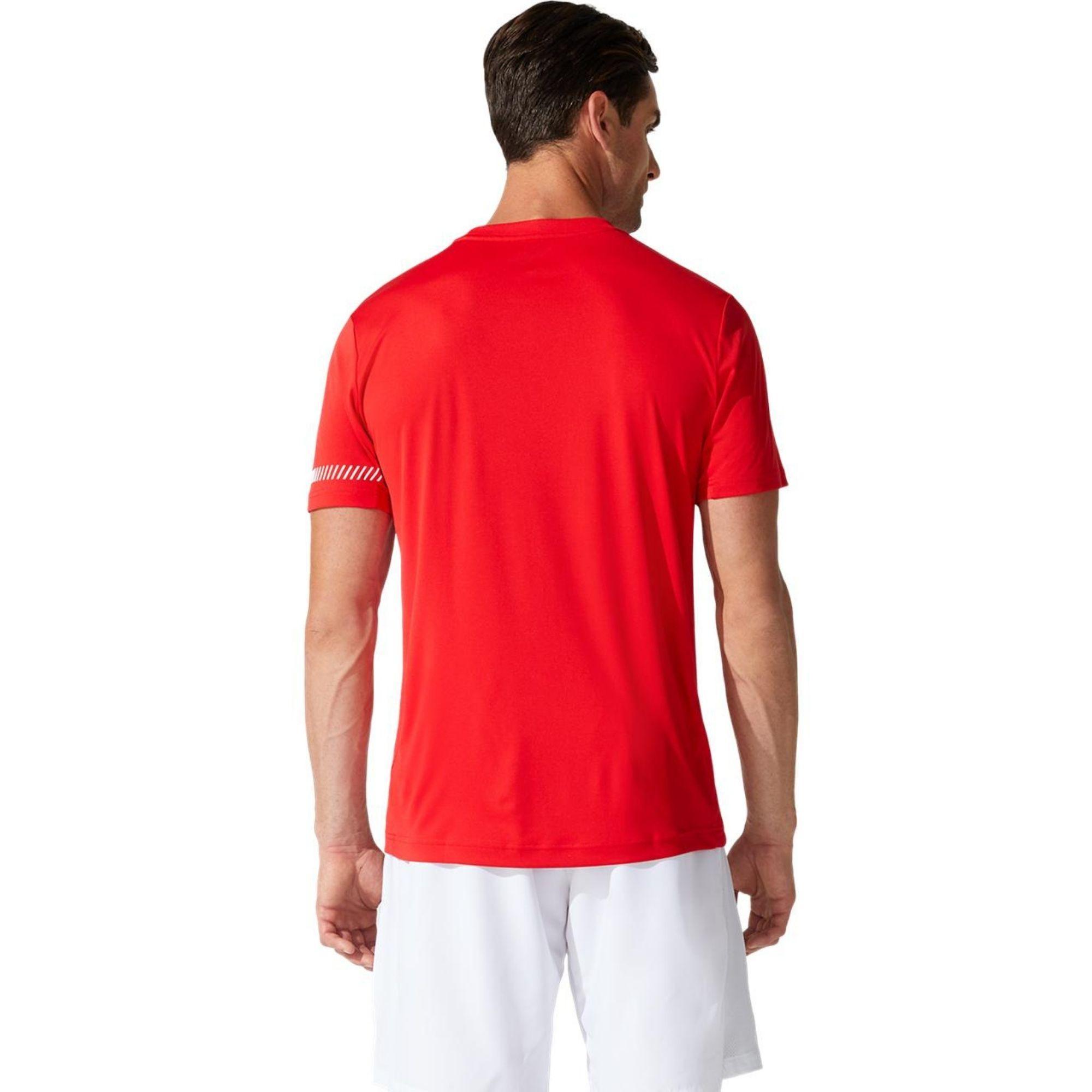 Camiseta ASICS COURT ROJA