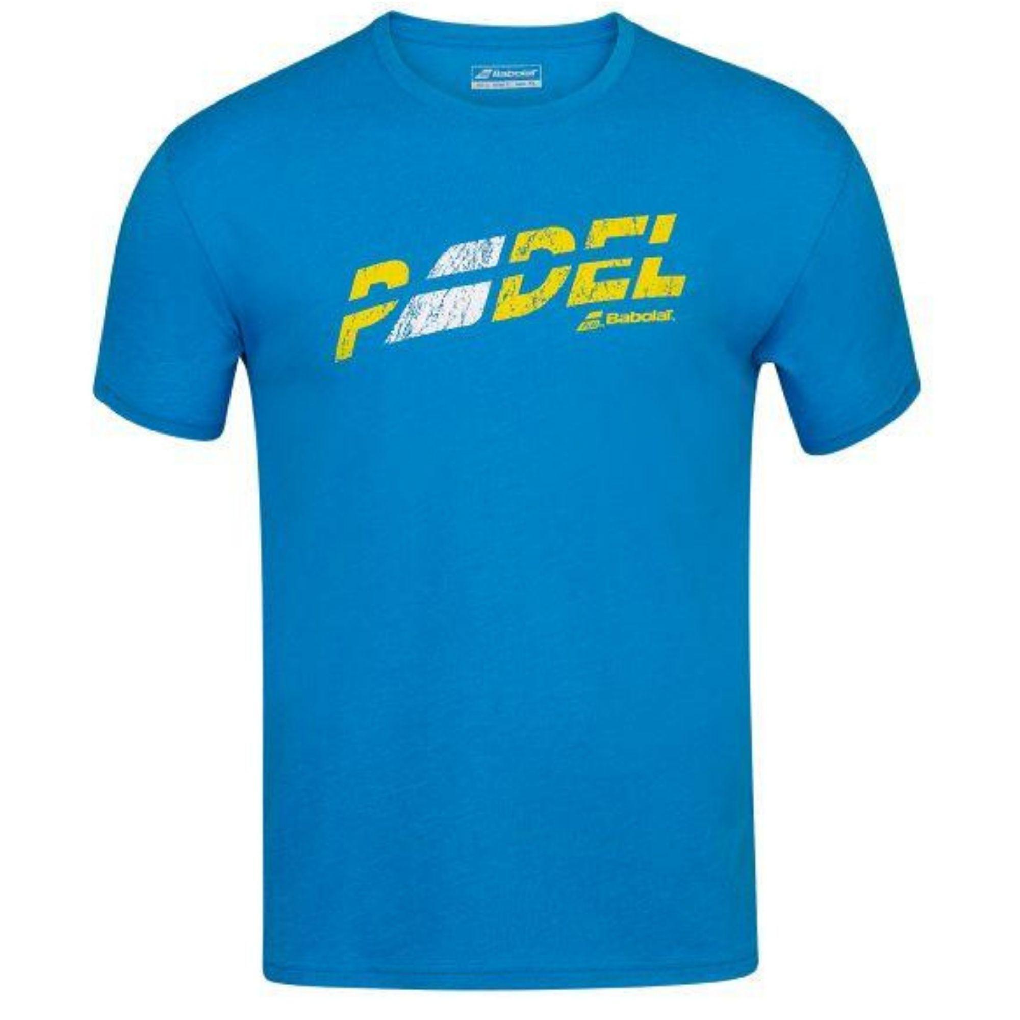 Camiseta Babolat Exercise Flag Padel