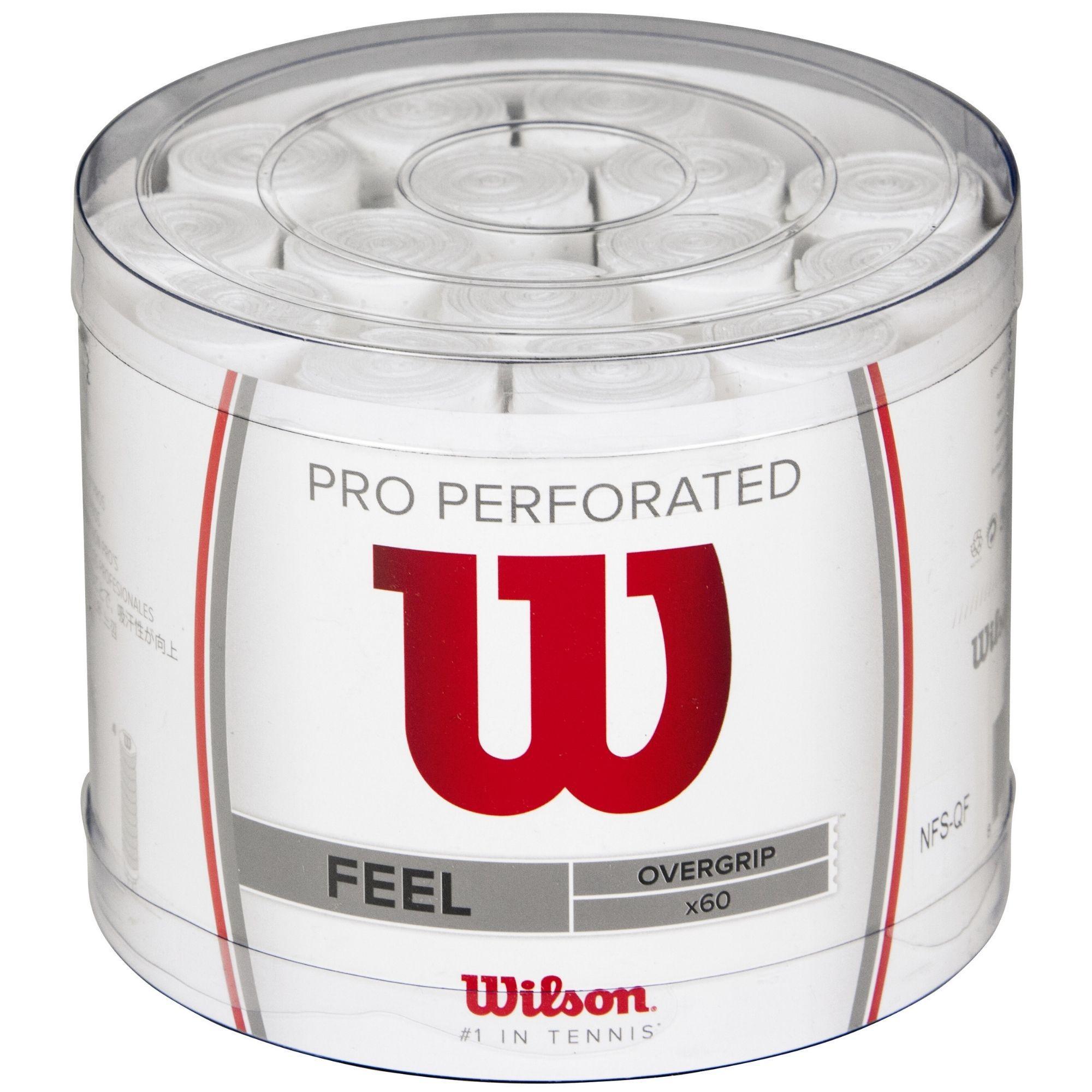 Tambor Overgrips Wilson Pro Perforado